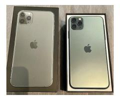 Apple iPhone 11 Pro Max 512GB $350 Whatsapp : +18566810896
